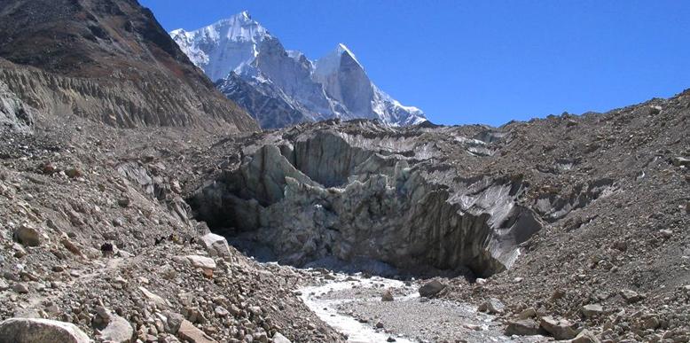 Gomukh Glacier