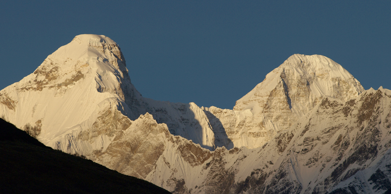 Nanda Devi East and Milam Glacier