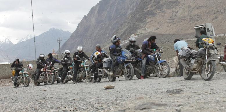Ladakh Motor Biking