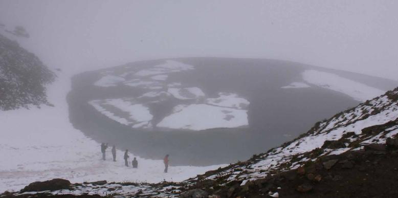 Roop Kund Lake