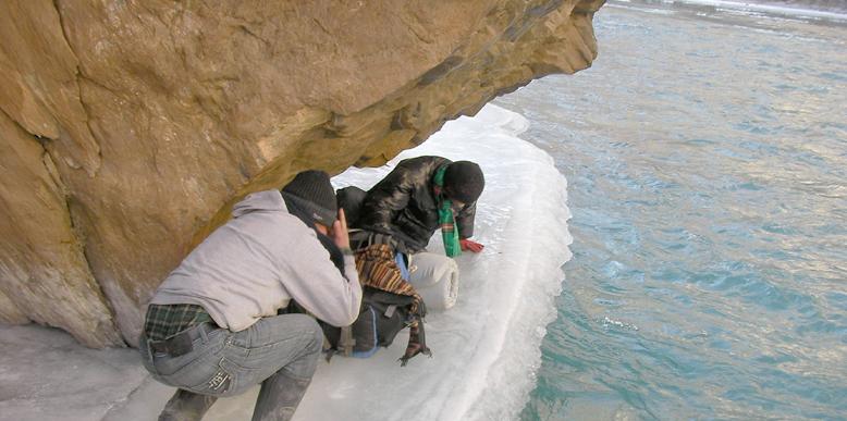 Frozen Chadar Trek