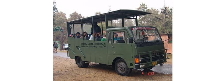 Canter Safari in Corbett