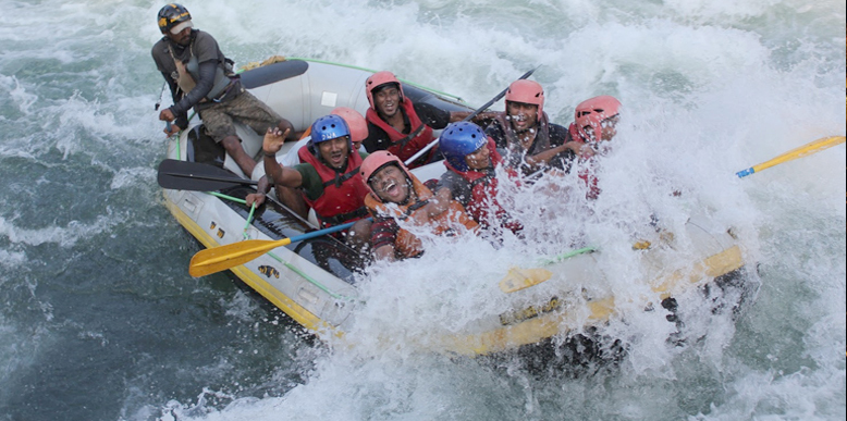 River Rafting in Kali River