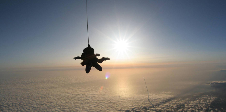 Sky Diving in Dhana