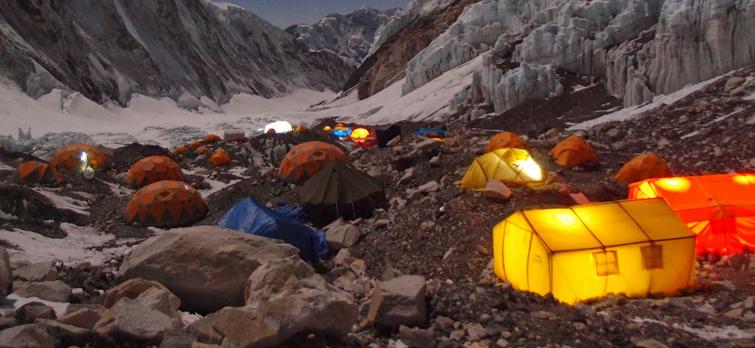 Sleep inside the Camp