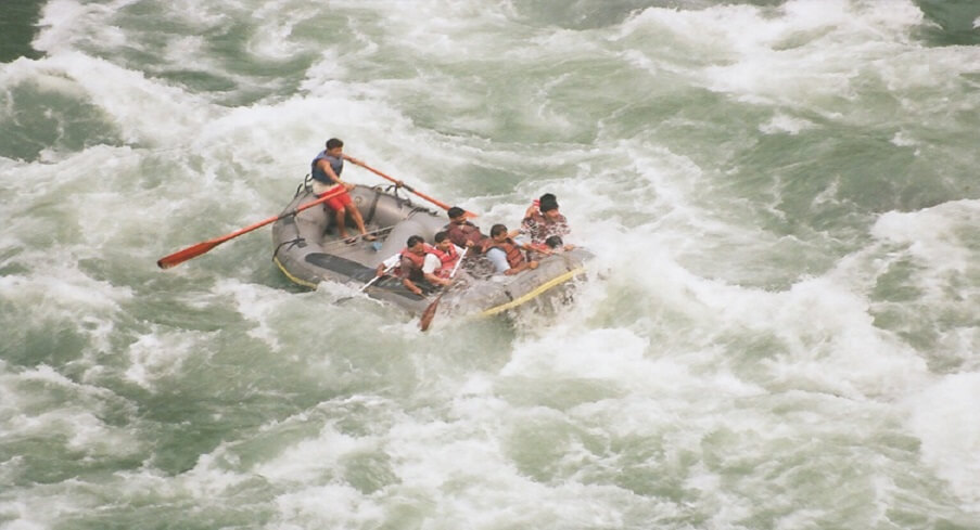 Image result for white water rafting in india