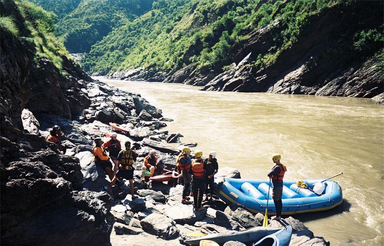 Bhagirathi River Rafting