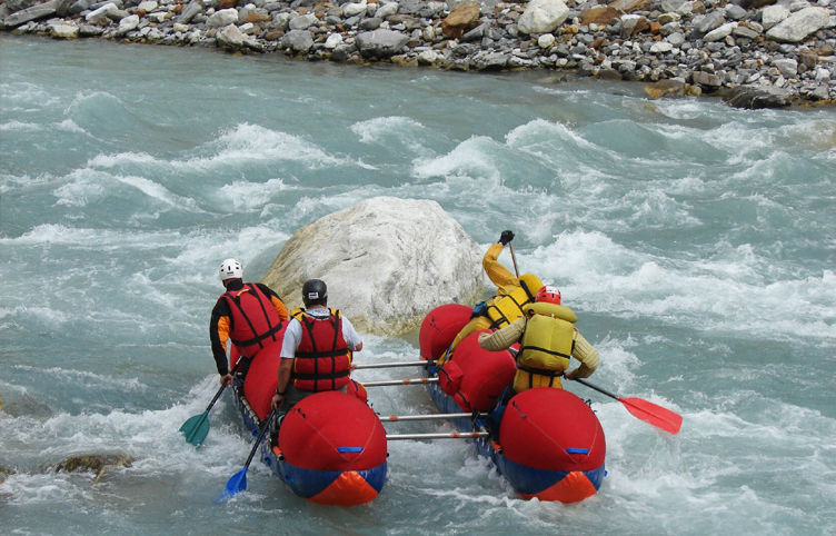 Spiti River Rafting