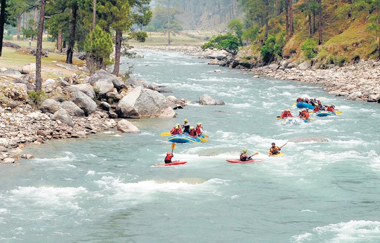 Yamuna River Rafting