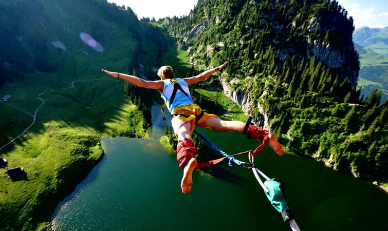 Bungee Jumping in India