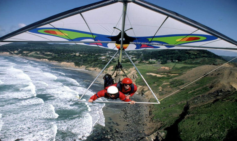 Hang Gliding in India