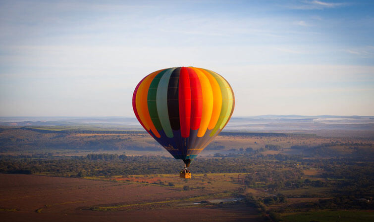 Hot Air Balloon Ride in India