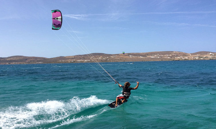 Kiteboarding in India