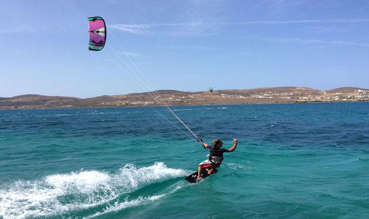 Kiteboarding in India
