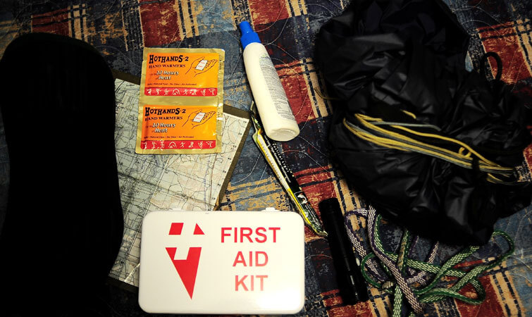 First Aid Kit for Trekking