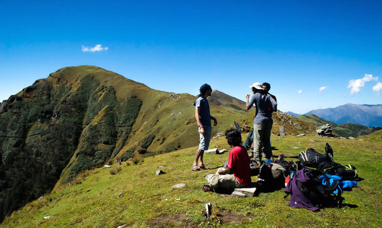 Take Break during Trekking