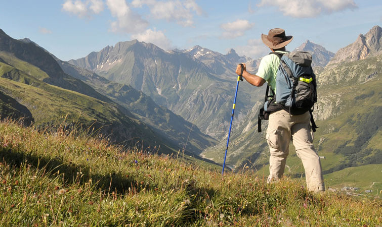 Trekking Poles during Trekking