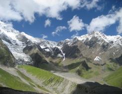 Mt. Ladakhi Climbing