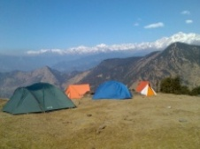 Camping in Indian Himalayas