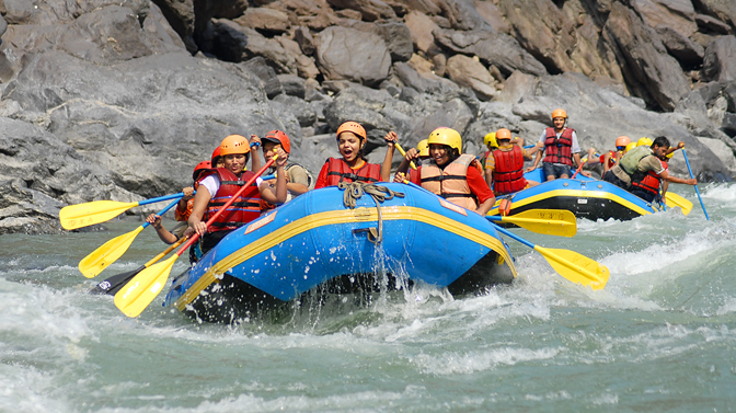 Adventure River Rafting