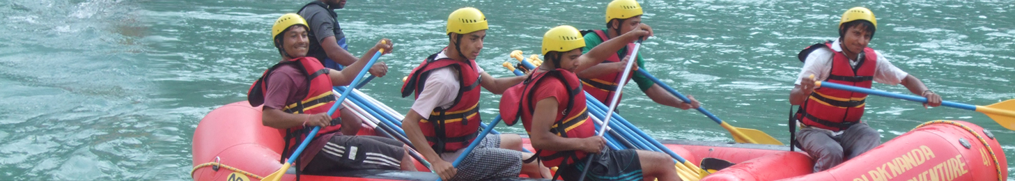 Alaknanda River Rafting Expedition