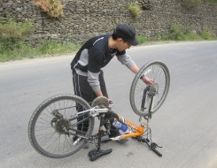 Biking in Garhwal